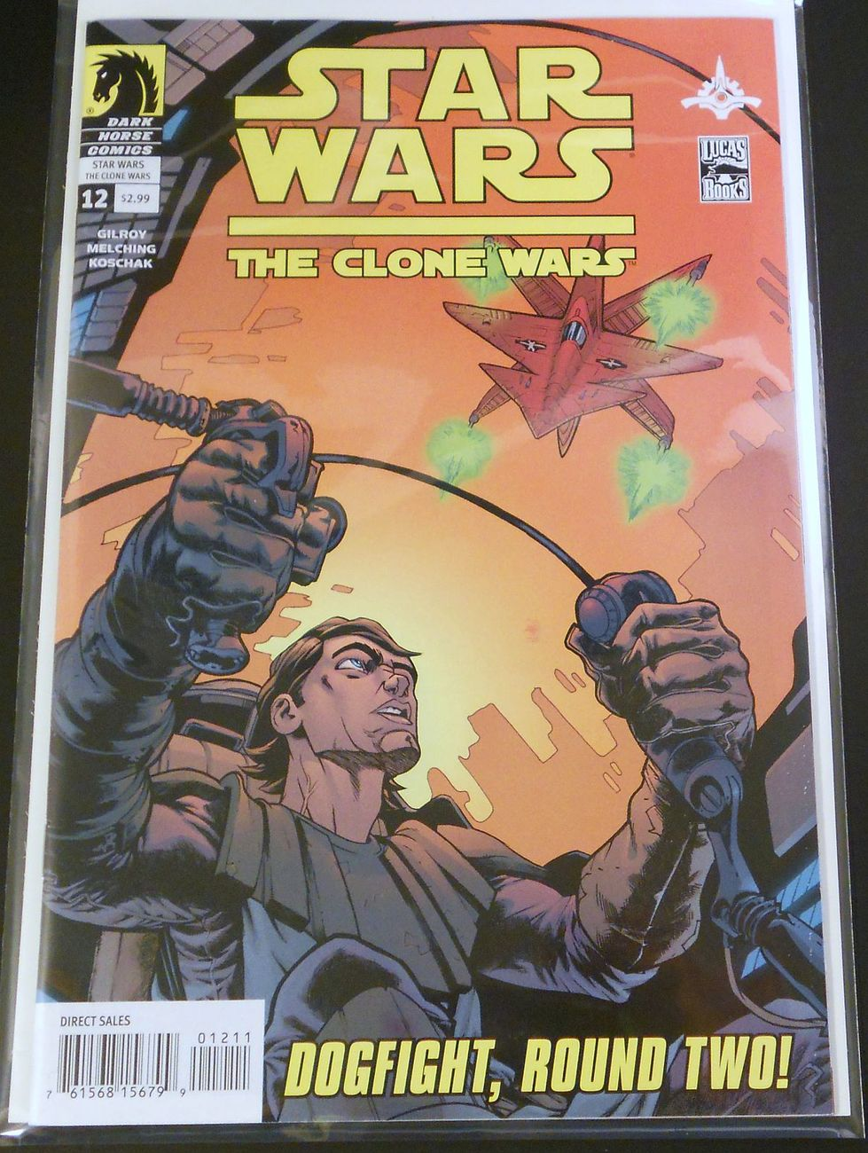 Star Wars Clone Wars Dark Horse Comics 12 Dogfight, Round Two
