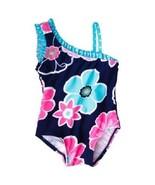 Circo Infant Girls One Piece Swimsuit Flowers O... - $7.69