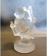 Goebel Hummel Frosted Crystal  Little Girl Sitt... - $11.00