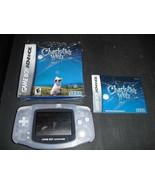 Nintendo Game Boy Advance glacier Handheld Syst... - $34.64