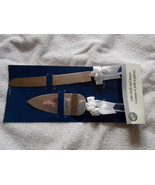Wilton Cake Knife and Server Clear Handles Wedd... - $19.80