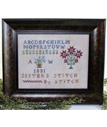 Sisters Stitch By Stitch cross stitch chart Leg... - $9.00