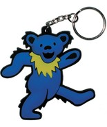 Grateful Dead Blue Dancing Bear Keychain - $3.50