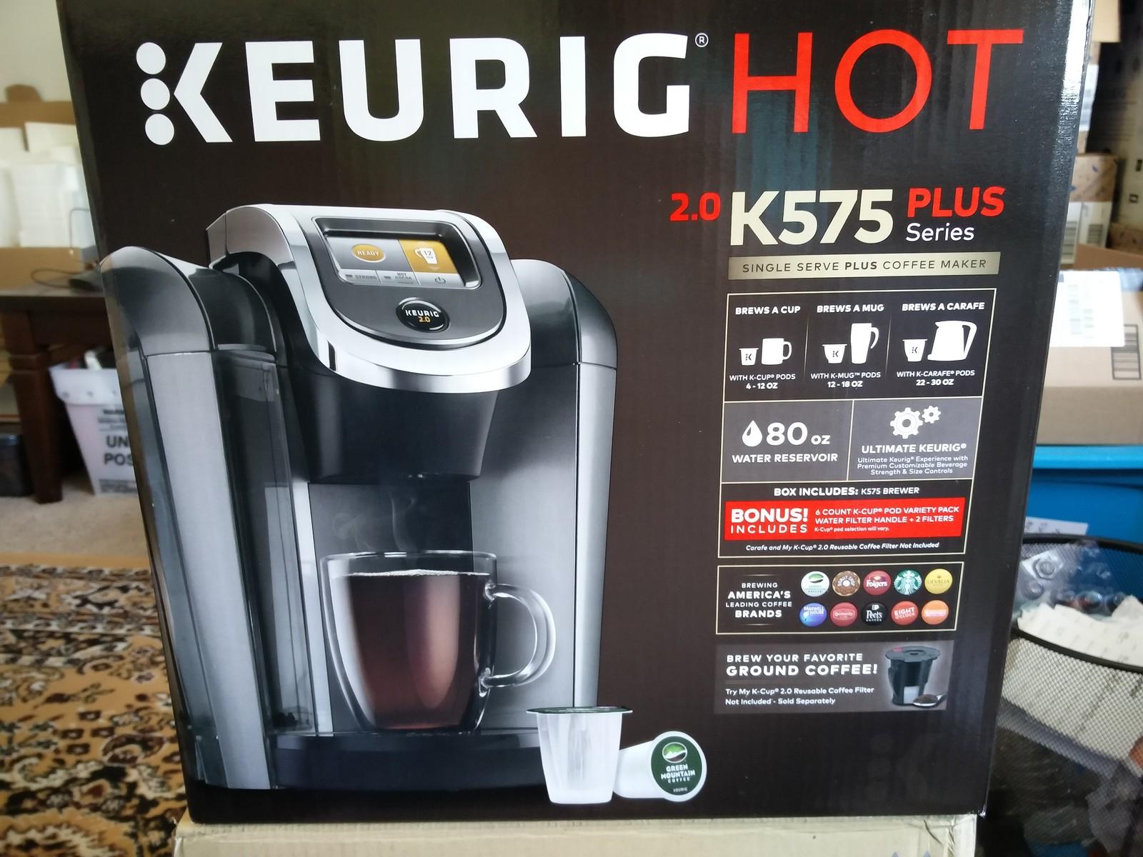 Keurig 2 0 K 525 575 Platinum Brewing System New 2016
