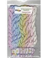 SILK FLOSS PACK for Patchwork Flower cross stit... - $36.45