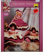 Fibre Craft Treasure Toppers Crochet Pattern Le... - $6.00