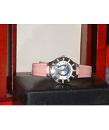 Women's Silver & Pink Gametime Rhinestone India... - $11.88