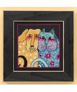 Fur-Ever Friends dog aida cross stitch kit Laur... - $16.20