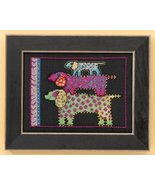 Dog Pyramid dog linen cross stitch kit Laurel B... - $16.20