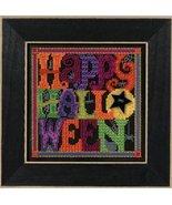 Happy Halloween Autumn Harvest Mill Hill 2016 B... - $12.60
