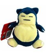 snorlax pokemon hasbro plush new with tag toy figure 143 1998 - $13.99