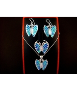 925 Silver Earrings Pendant Ring Set Hawaiian O... - $79.00