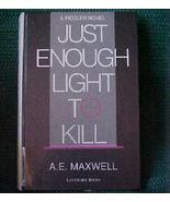 Old Book Lg Print 1988 HCNDJ Enough Light To Ki... - $1.25