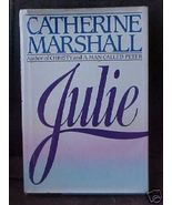 Old Book JULIE Catherine Marshall HCDJ 364 ppg - $1.99