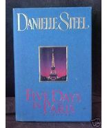 Old Book Five Days In Paris Danielle Steel 1995... - $1.99