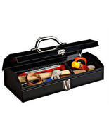 Small Mini Toolbox Organizer Lock Hardware Meta... - $27.72