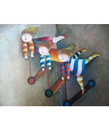 Paint Toy Scooters Canvas Painting Children Pla... - $44.11