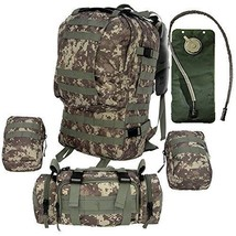 Tactical Backpack Bundle + 2.5L Hydration Water... - $83.45