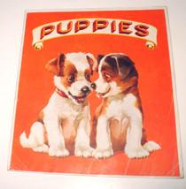 PUPPIES Vintage Children's Books Sam'l Gabriel ... - $9.80