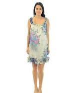 NWT S Yoana Baraschi Ivory Multi-Color Sleevele... - $89.41