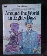 Vintage Mini Book Moby Classic Around World Eig... - $3.00