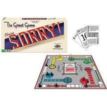Sorry Classic Edition Board Game, Free Shipping... - $19.97