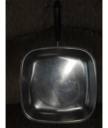 Revere Ware Copper Bottom Stainless Steel Squar... - $59.97