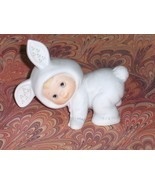 Enesco Bunny Rabbit 1984 Figurine Child in Cost... - $14.00