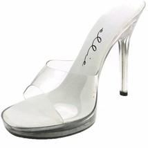 ELLIE Shoes Sexy High Heel Slip On Mule Stilett... - $38.65