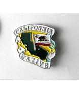 USA US CALIFORNIA NATIVE STATE NAME MAP LAPEL P... - $4.46