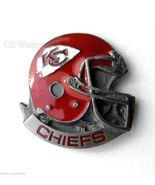 KANSAS CITY CHIEFS NFL FOOTBALL HELMET LOGO LAP... - $5.59