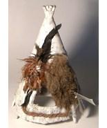 Native People Natural Wonders Hand Made Teepee ... - $18.00