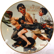 NORMAN ROCKWELL COLLECTOR PLATE THE STREAKER NO... - $14.20