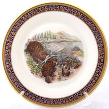 LENOX BOEHM WOODLAND WILDLIFE BEAVERS COLLECTOR... - $47.49