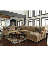CANYON - OVERSIZE BROWN CHENILLE LIVING ROOM SO... - $2,475.73