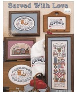 Served With Love Cross Stitch Patterns Country ... - $4.50