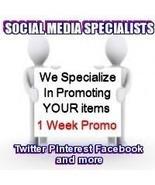 Social Media Specialists 7 Days Twitter + Plus ... - $9.00