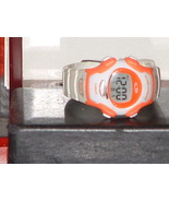 Pre Owned Women's Orange & White Quartz Digital... - $7.00