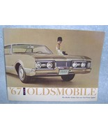 1967 Oldsmobile Brochure The Rocket Action Cars... - $14.99