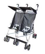 Twin Umbrella Stroller Baby Double Strollers  B... - $44.55