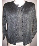 Colleens Collectables Black Sparkle Twinset Siz... - $27.00