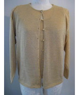 Colleens Collectables Gold Sparkle Twinset Size... - $27.00
