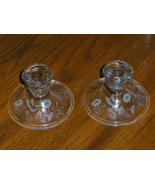 Avon Hummingbird Crystal Candle Stick Holders E... - $14.99
