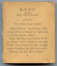 Big Little Book KAYO and MOON MULLINS in the ON... - $7.91