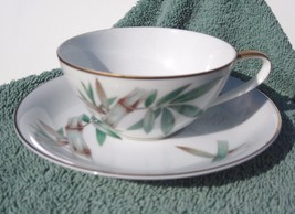 Noritake Canton 5027 cup and saucer set  Bamboo... - $16.25