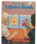 How to Sew A Quiet Book Toddlers Children  - $5.99