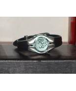 Pre Owned Women's Silver & Black Color Armtron ... - $9.00