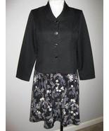 Bedford Fair Two Piece Dress Suit Size 16 Petite - $27.00