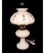 Electric Milk Glass Lamp White Student Desk Tab... - $149.95