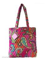 Vera Bradley Pink Swirls Tote Bag New - $59.95